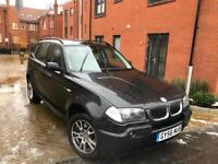 BMW X3 2007 2.0D DIESEL ** 6 SPEED MANUAL ** 12 MONTH MOT ** SERVICE HISTORY ** PARKING SENSORS **