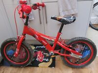 Disney Cars-themed child bicycle for 5-8 year old