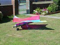 RC kite plane