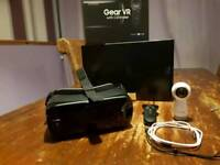 Samsung VR headset with controller and 360 camera