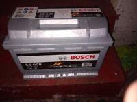 Bosch Car Battery - new.