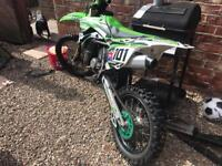 Kawasaki kx 85 big wheel 2014 model