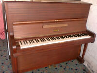 STECK PIANO RE POLISHED OVER STRUNG MODERN CASE £325
