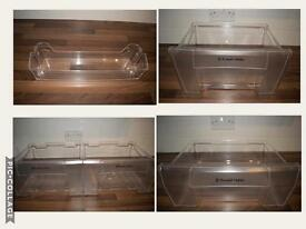 Russel Hobbs FRIDGE FREEZER genuine trays, drawers and shelves in MINT conditions