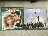 "Grease and Jesus Christ Superstar Soundtrack 12"" Vinyl's (LP's Records)"