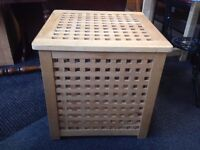 Wooden Storage Box- CHARITY