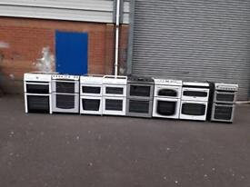 Selection of ceramic top cookers,6 months warranty,1 year pat test £125-£170/fully reconditioned