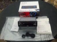 Sony Car Radio C D, Single Din MEX=N4100BT