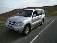 2003 Mitsubishi Shogun Elegance, Only 99,000 Miles, 12 months mot, 3 months warranty
