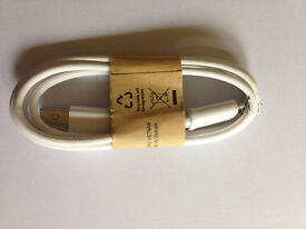 GENUINE SAMSUNG GALAXY S4 S3 S2 MICRO USB SYNC DATA CHARGER CABLE ECB-DU4AWE(min order 25pcs)
