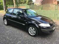 2006 megane dynamique 1.6 Mot to July 2018