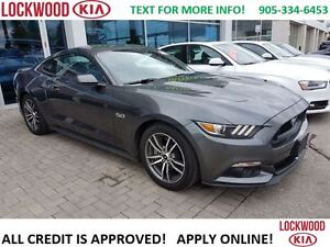 2016 Ford Mustang GT 5.0 - LEATHER, NAVIGATION, CLIMATE CONTROL