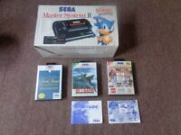 seag master system 2 and games