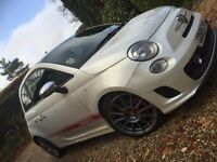 Fiat Abarth Essessee Limited edition 160bhp Pearl White 1.4 Turbo