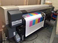 Seiko 64s. SOLVENT LARGE / WIDE FORMAT PRINTER like Roland, mimaki, up.