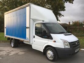 FORD TRANSIT LUTON/CURTAIN SIDER 2.4 TDCI 115 PS 14FT BODY REG 2010 60 REG . P/X WELC,