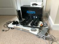 NINTENDO WII Bundle -BLACK in box with Wii fit and balance board