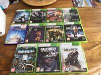 Xbox 360 good condition 9 games