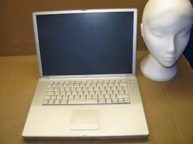 "Apple PowerBook 15.2"" 2004 A1095 1.3GHZ 60GB 2GB NEEDS OSX AS IS SL3"