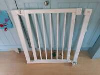 White Mothercare Stairgate