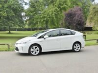 Toyota Prius Spirit Pearl White As new; 11,400 miles only: sale due to health reason.