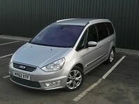 Ford Galaxy 2.0 Tdci Titanium 163BHP 2012 (62) Silver, Low Miles with FSH