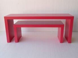 Display side table set