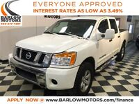 2011 Nissan Titan SV Crew Cab 4X4! *Everyone Approved*