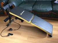 Sport Gym Fitness Folding Ab Training Bench Home Exercise Workout Sit Ups Weight