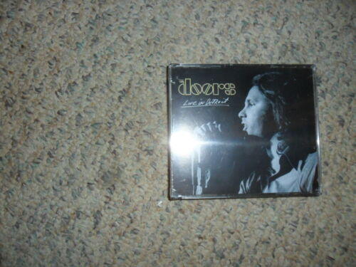 """The Doors """"LIVE IN DETROIT""""  2-CD  Rhino-Bright Midnight RECORDS New/Sealed EX"""