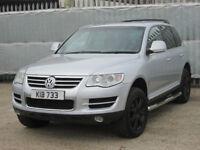 2007 (57 reg), Volkswagen Touareg 2.5 TDI DPF SE 5dr