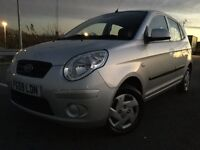2009 KIA PICANTO 5 DOOR, ONLY 50,000 MILES IDEAL FIRST CAR £30 A YEAR ROAD TAX