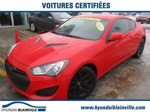 2013 Hyundai Genesis Coupe 2.0T BAS KM, SUPER PROPRE, 1 PROPRIÉT