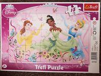 Puzzle - Trefl 15, 3+ Cindarella
