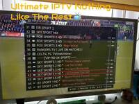 ANDROID IPTV boxes - 1000sCHANNELS HD + SD + VOD + 3PMS + BOX OFFICE LIST GOES ON £65plug and play