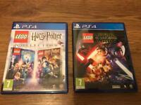 Lego Star Wars Lego Harry Potter for PS4