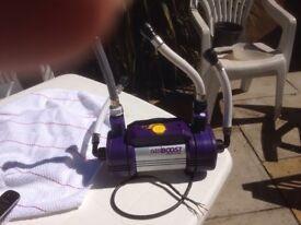 Showerforce booster pump