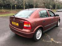 Vauxhall Astra 2000 AUTOMATIC 12 MONTHS TEST FSH hardly been driven immaculate interior