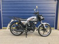 2017 GEN MOTO CS125cc CAFE RACER , VERY LOW MILES IMMACULATE CONDITION 11 MONTH OLD