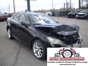 2013 Lexus IS 250 AWD 6CYL 2.5L MAG SROOF GR ELECT CUIR SIEGE CH