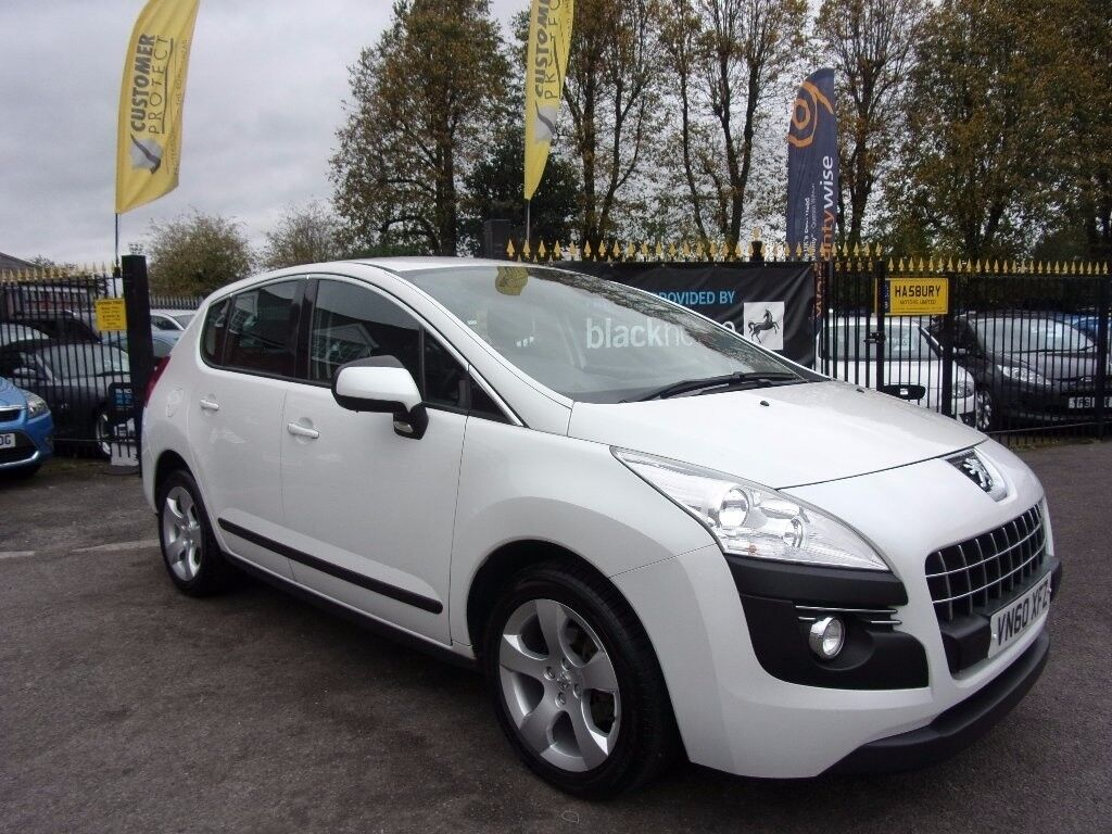 peugeot 3008 1 6 hdi fap sport suv egc 5dr auto white 2010 in halesowen west midlands gumtree. Black Bedroom Furniture Sets. Home Design Ideas