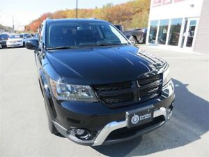 2017 Dodge Journey Crossroad *DVD *Nav *Sunroof *Heated Leather