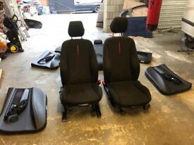 BMW 2012 to 2017 sports seats interior F30
