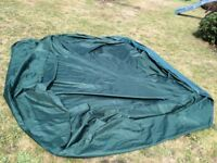 @@DOME SHAPED TARPAULIN WITH EYELETS AND ROPE@@