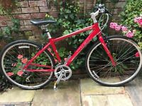 2 TREK 7.2FX HYBRID ADULT BIKES. 17.5INCH(44.5CM) AND 15INCH(38CM) in excellent condition.