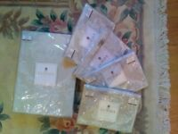 Unused Luxury Woven Dorma quilt/duvet cover SUPER KING with x4 matching Pillowcases