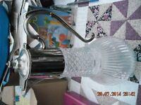 Heavy Glass Claret jug