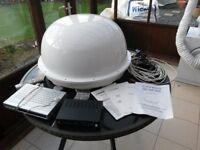 CAMOS-1300P/ 1400P Automatic, Auto-adjusting Satelite antenna