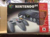 Fully complete and boxed Nintendo 64 N64