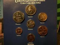 1982 uncirculated coins (35 years old)